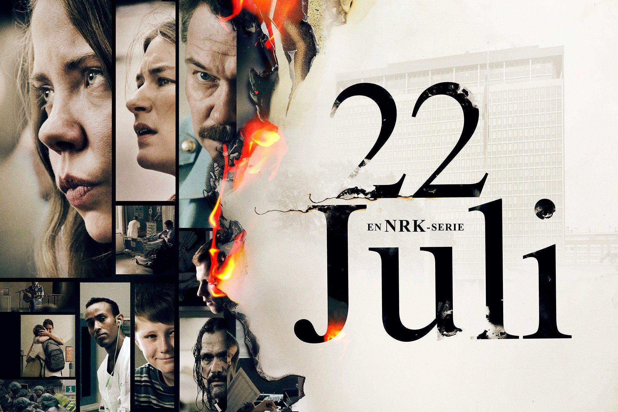 22 Juillet, la nouvelle série dramatique sur NRK