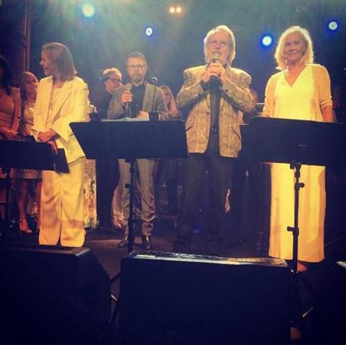 ABBA s'est reformé pour un soir