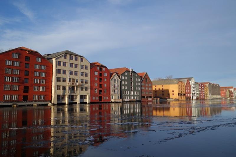 Record de froid à Trondheim en avril