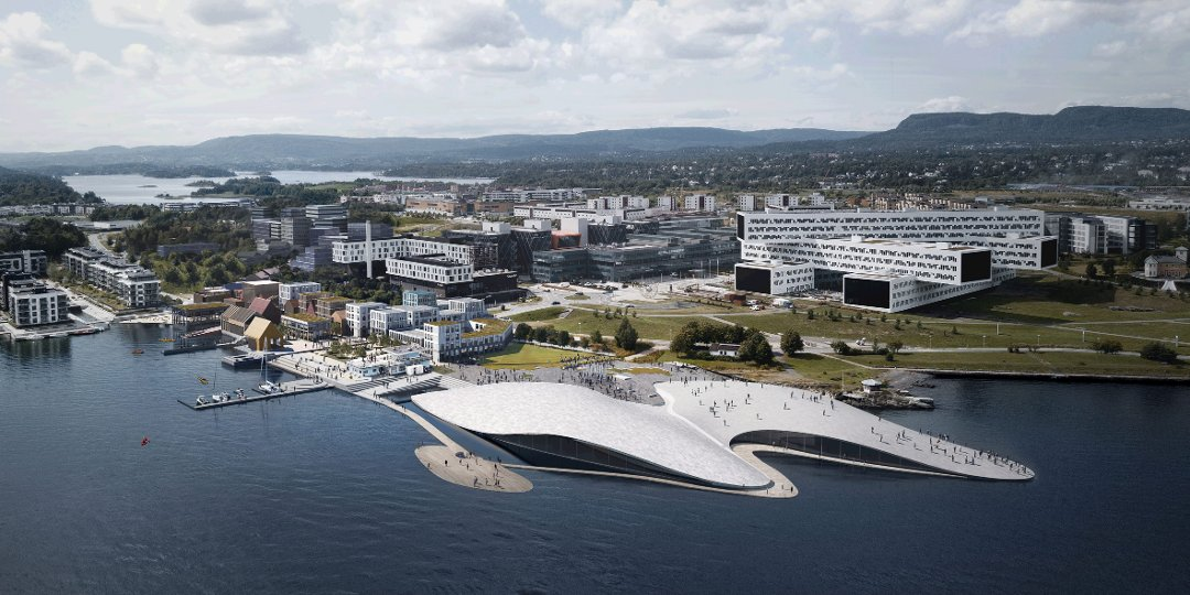 Le quartier de Fornebu à Oslo devrait accueillir le plus grand aquarium d'Europe du Nord d'ici 2022