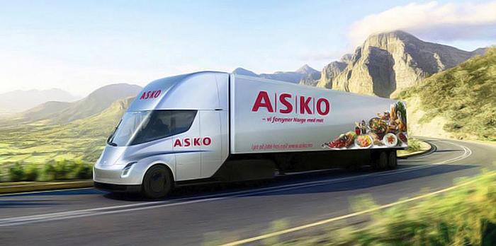La société norvégienne ASKO commande les premiers TESLA Semi
