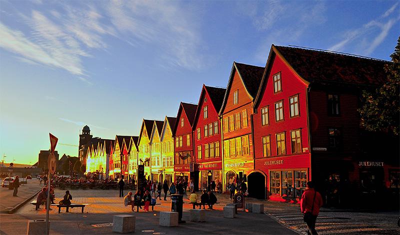 Bergen classé parmi les meilleures villes d'Europe