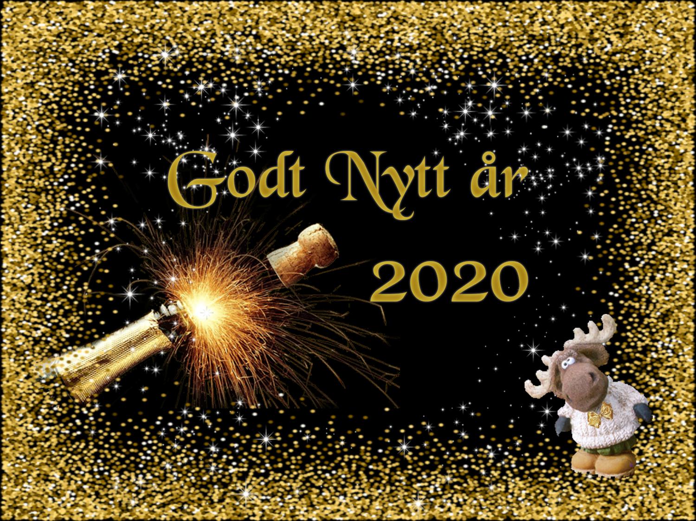 Bonne Année - Godt nytt år 2020 !
