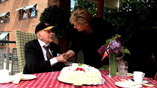 Le Norvégien le plus âgé fête 109 ans