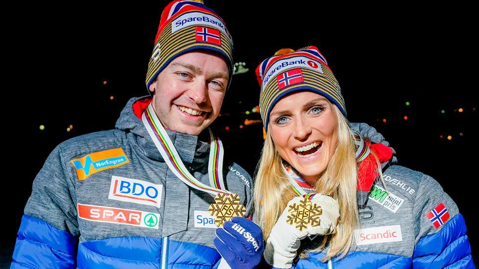 La ruée vers l'or pour les skieurs norvégiens