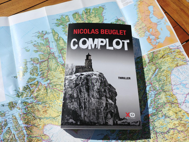 Après 'Le Cri', découvrez 'Complot' le nouveau thriller de Nicolas Beuglet