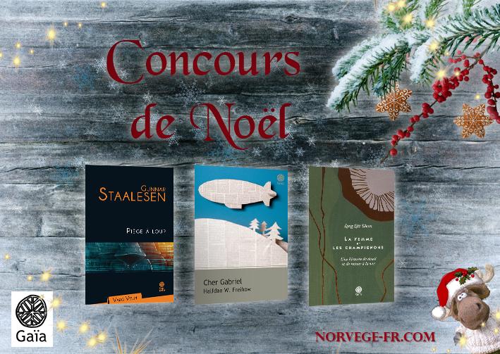 CONCOURS de NOËL en partenariat avec Gaïa Éditions