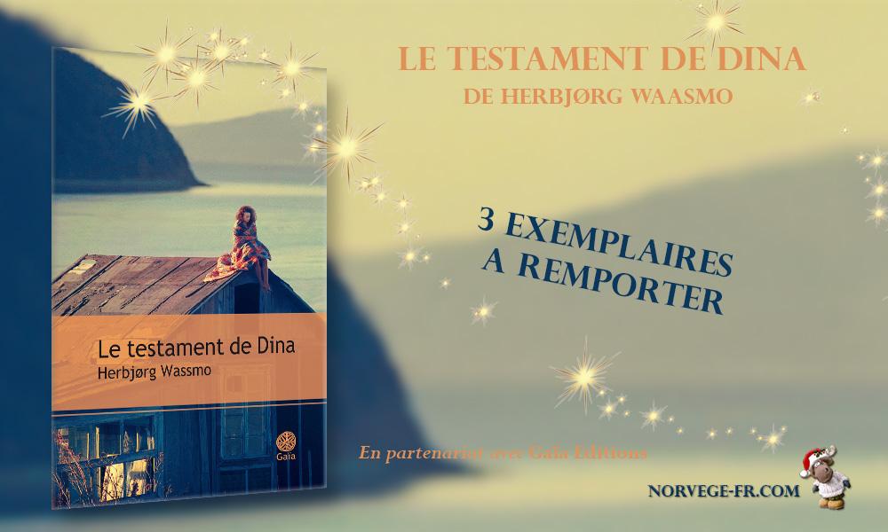 [CONCOURS] Le testament de Dina de Herbjørg Wassmo