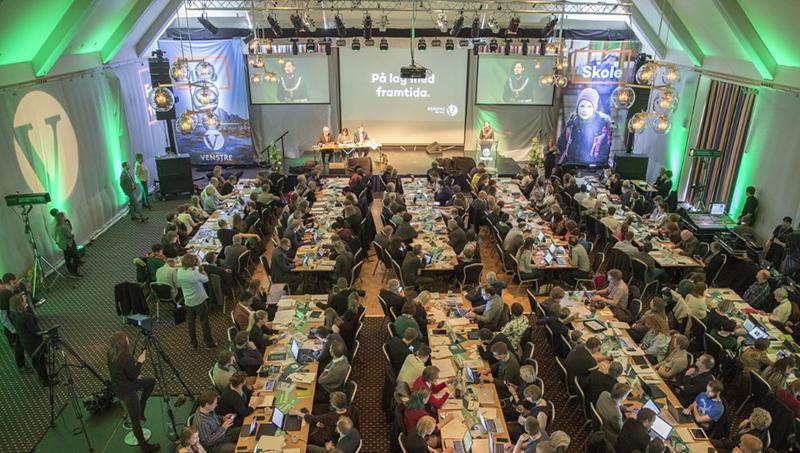 Les grandes orientations politiques du Congrès National du Parti Libéral à Ålesund