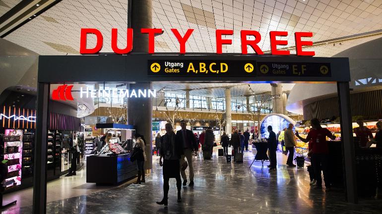 Les ventes d'alcool en baisse dans les aéroports norvégiens