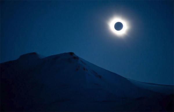 Dernière éclipse du soleil en Norvège avant 118 ans