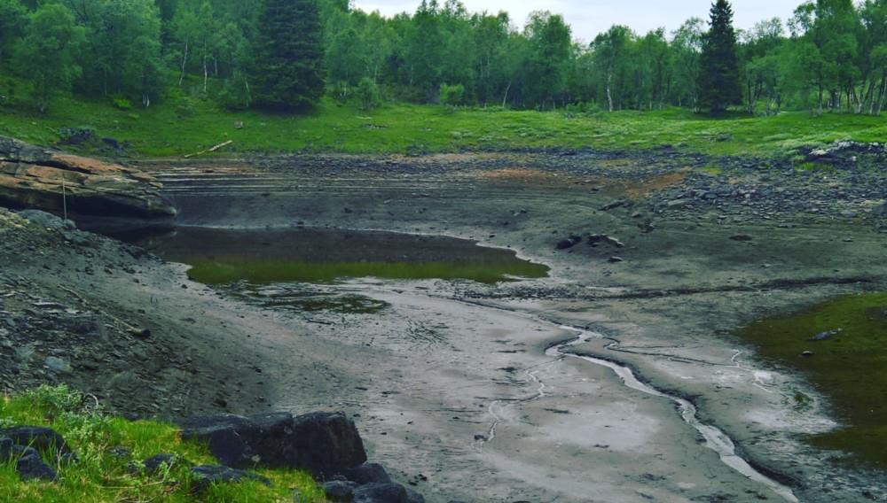 Engavatnet, le mystérieux lac