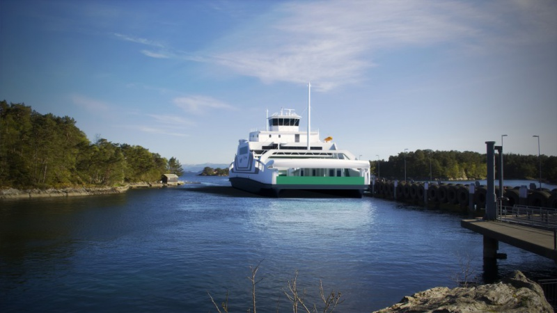 Bientôt un nouveau ferry tout électrique