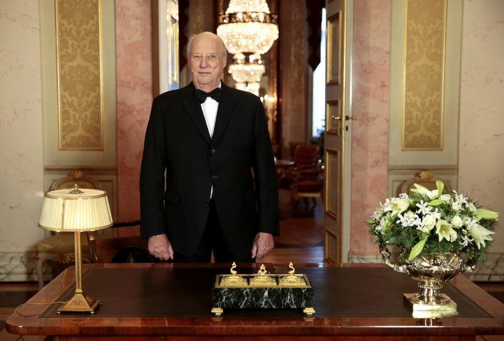 Vœux de Sa Majesté le Roi Harald pour la nouvelle année