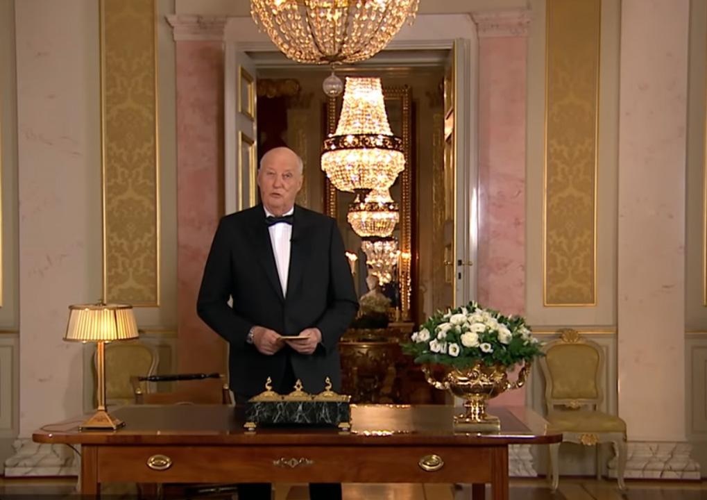 Voeux de Sa Majesté le Roi Harald pour 2019