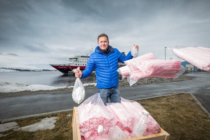 Hurtigruten déclare la guerre au plastique !