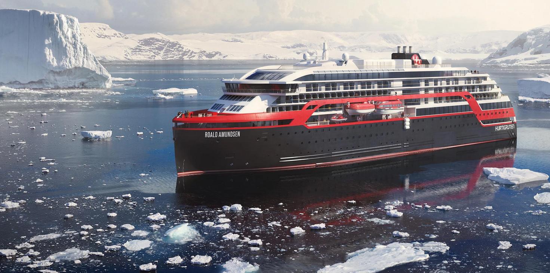 Hurtigruten a inauguré le premier navire d'expédition hybride au monde