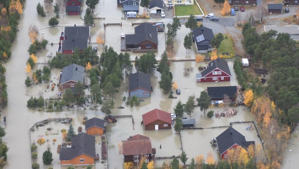 Inondations dans l'ouest de la Norvège ce week-end