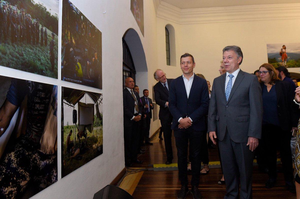 L'exposition du Prix Nobel de la Paix 2016 s'installe en Colombie