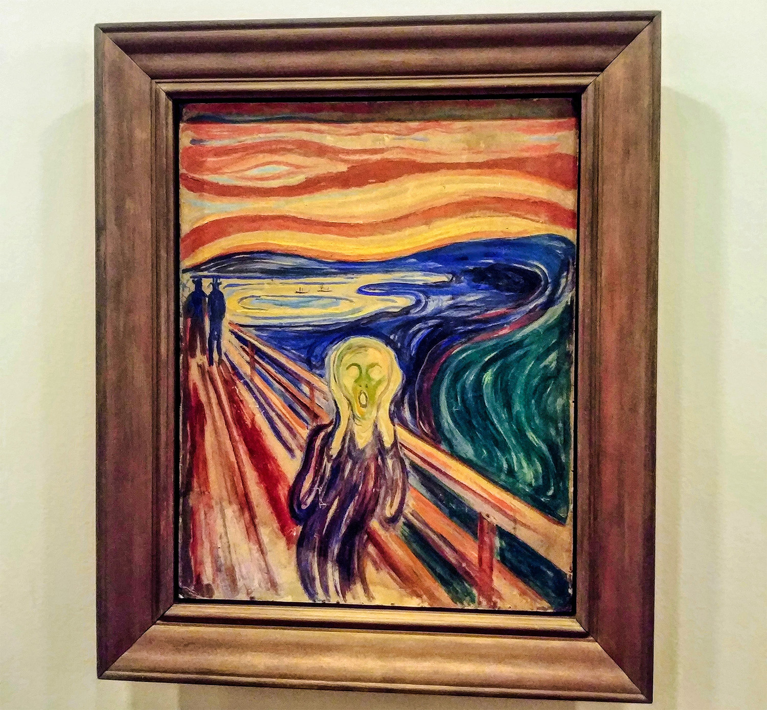 Le Cri de Munch nécessite de la distanciation physique