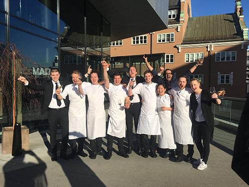 Trois étoiles au guide Michelin pour un restaurant à Oslo
