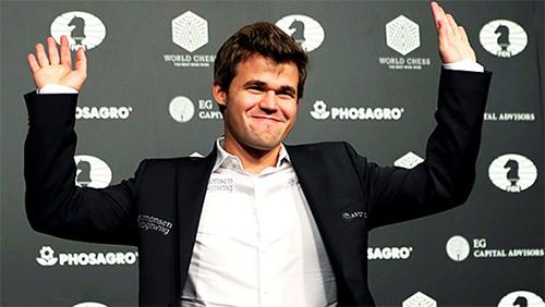 Magnus Carlsen conserve son titre de champion du monde d'échecs