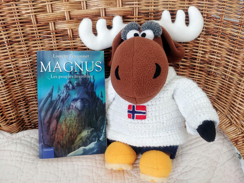 Lecture : MAGNUS, Les peuples invisibles de Laurent Peyronnet, un roman jeunesse sur fond de mythologie nordique et d'écologie