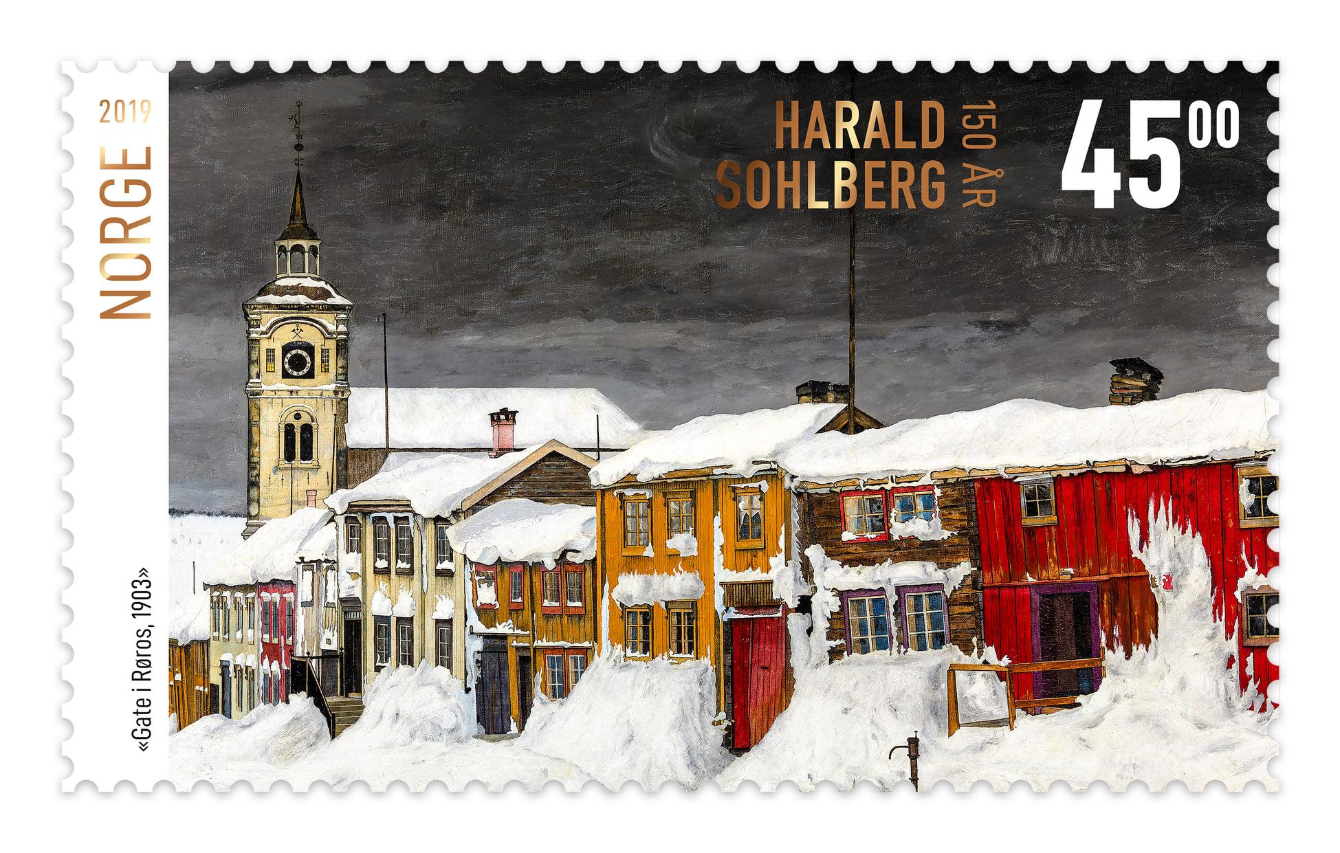 Le plus beau timbre du monde vient de Norvège !
