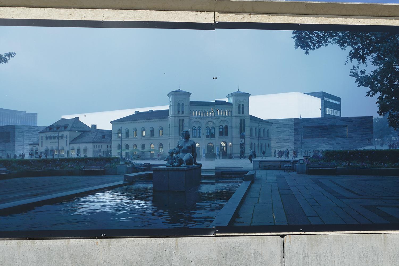 Nasjonalgalleriet | La Galerie d'Art Nationale à Oslo en Norvège