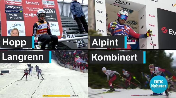 La chaîne norvégienne publique NRK perd ses droits sur les sports d'hiver