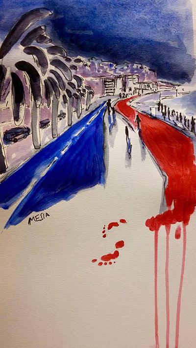 Attentat de Nice : La Norvège témoigne son soutien à la France