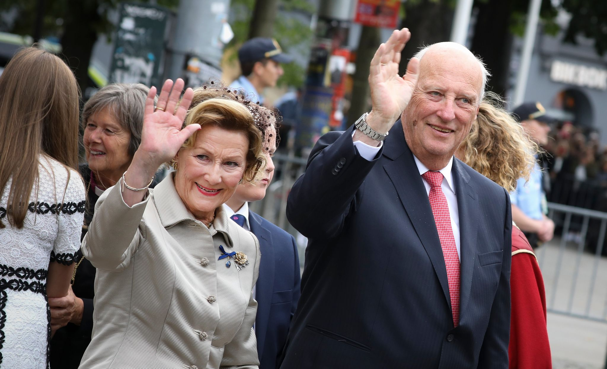 Le couple royal de Norvège fête ses 50 ans de mariage