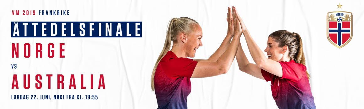 Coupe du monde féminine de football : Norvège / Australie