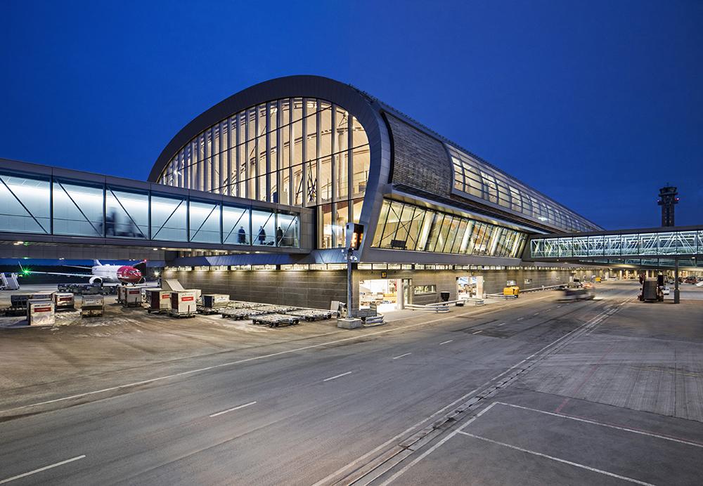 Inauguration du nouveau terminal de l'aéroport d'Oslo