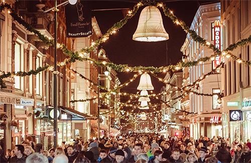Noël fait son marché à Oslo