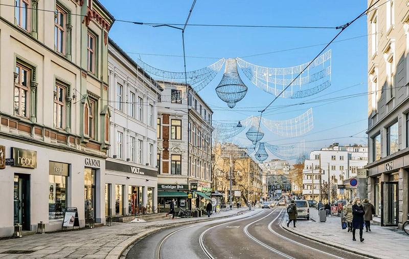 Une appli contre la fermeture des commerces du centre ville d'Oslo
