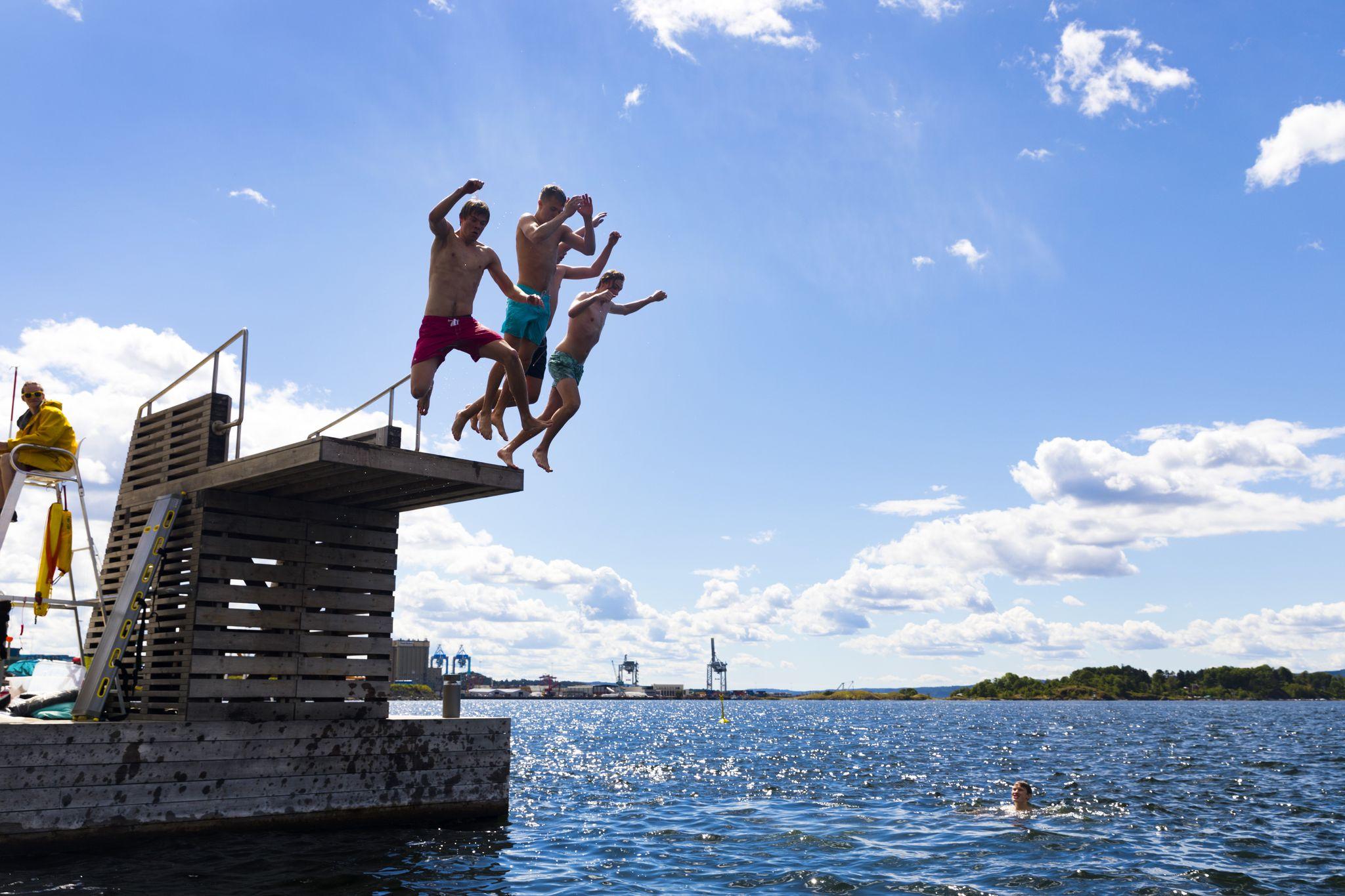 La vague de chaleur continue en Norvège