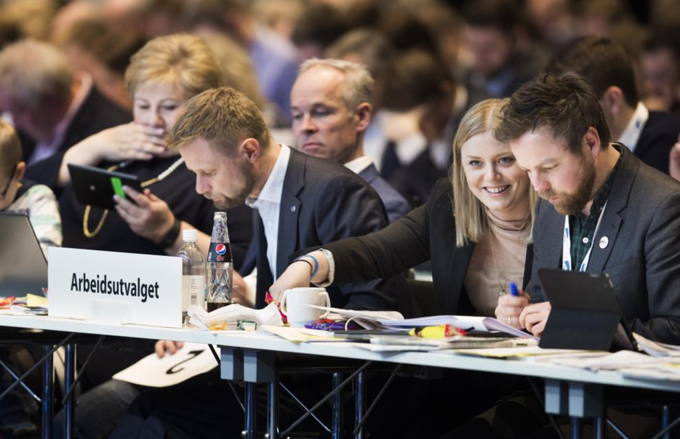Conclusions de la convention du parti Conservateur norvégien