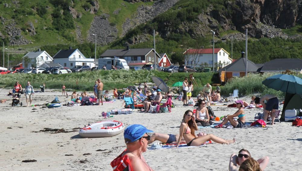 Encore un nouveau record de chaleur en Norvège !