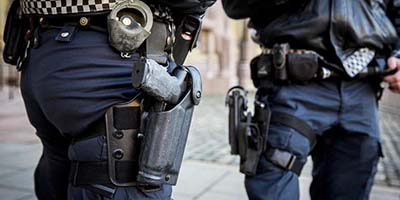 La police d'Oslo de nouveau désarmée