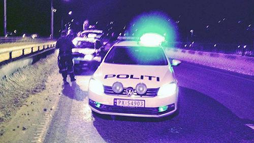 En slip par -17°, un norvégien arrête le voleur de son véhicule