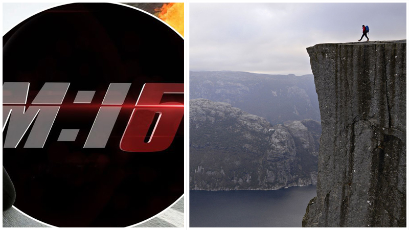 Tom Cruise et Mission Impossible attendus à Preikestolen