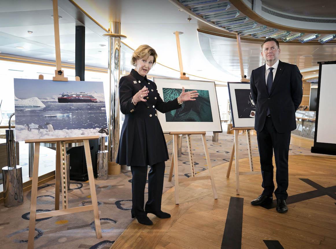 L'art graphique norvégien à l'honneur sur le nouveau navire d'Hurtigruten