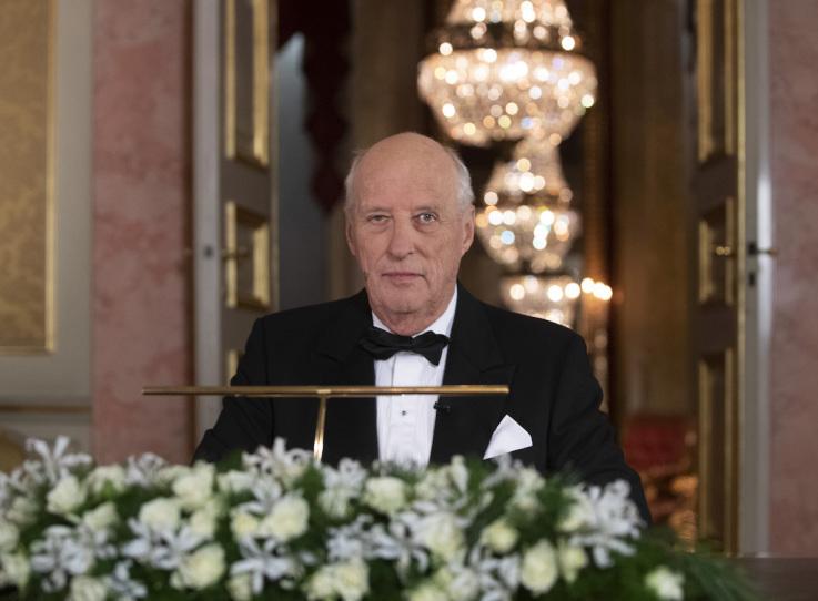 Vœux du Roi Harald de Norvège pour 2020