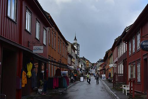 Røros ou la ville classée à l'UNESCO