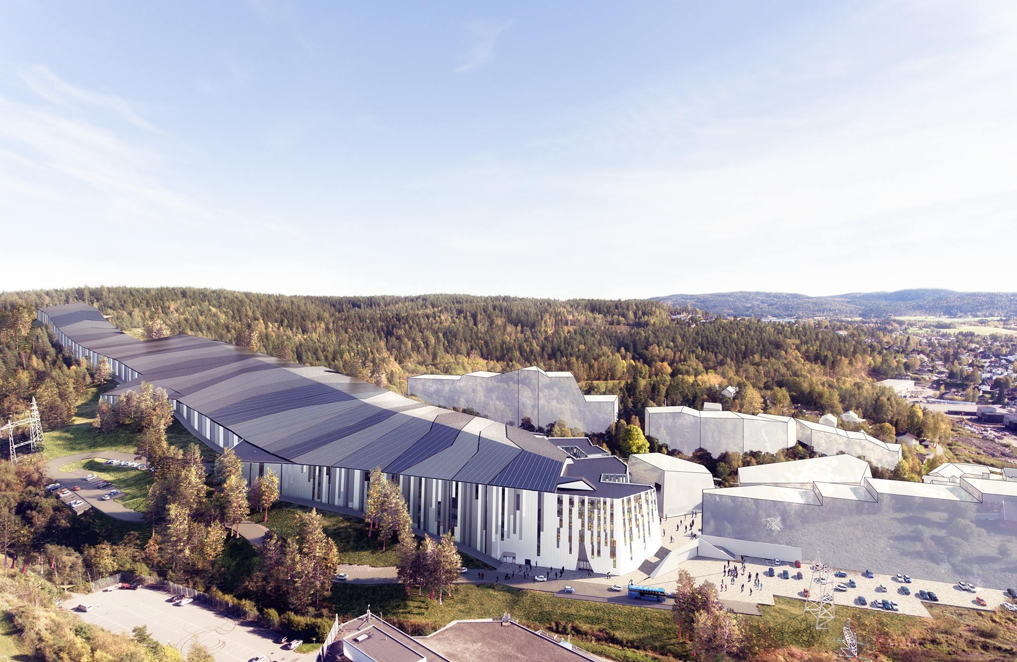 SNØ, la première station de ski couverte vient d'ouvrir en Norvège