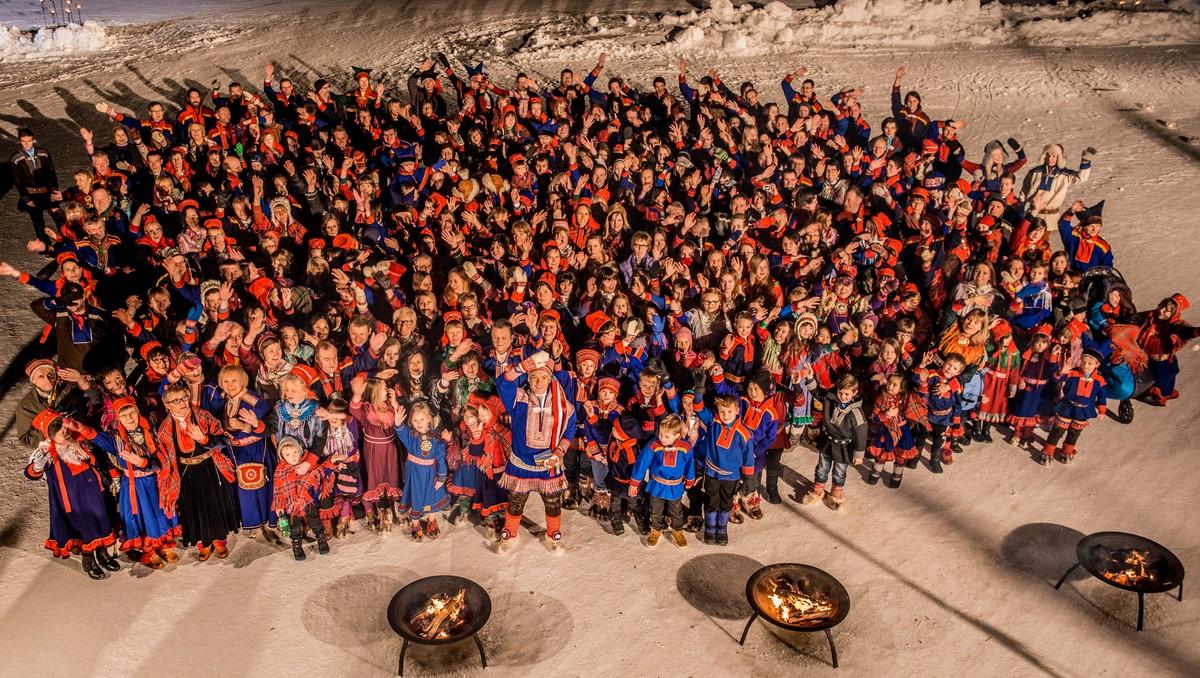 Le peuple Sami célèbre sa fête nationale aujourd'hui