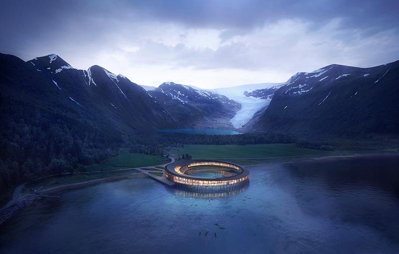 Hôtel Svart : le plus écologique du monde [par Snøhetta]