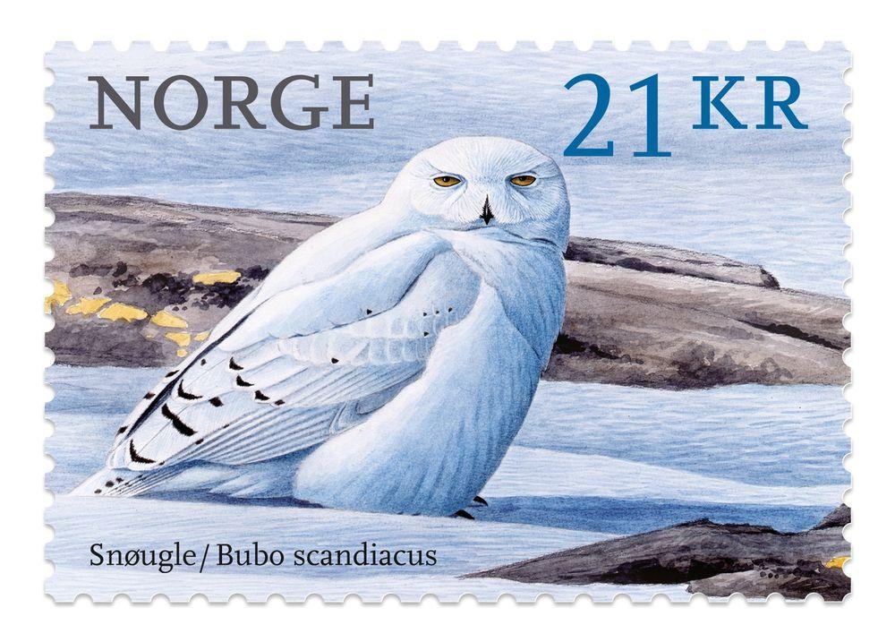Ce timbre norvégien est le plus beau du monde