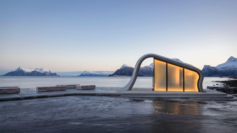 Les plus belles toilettes du monde se trouvent... en Norvège !